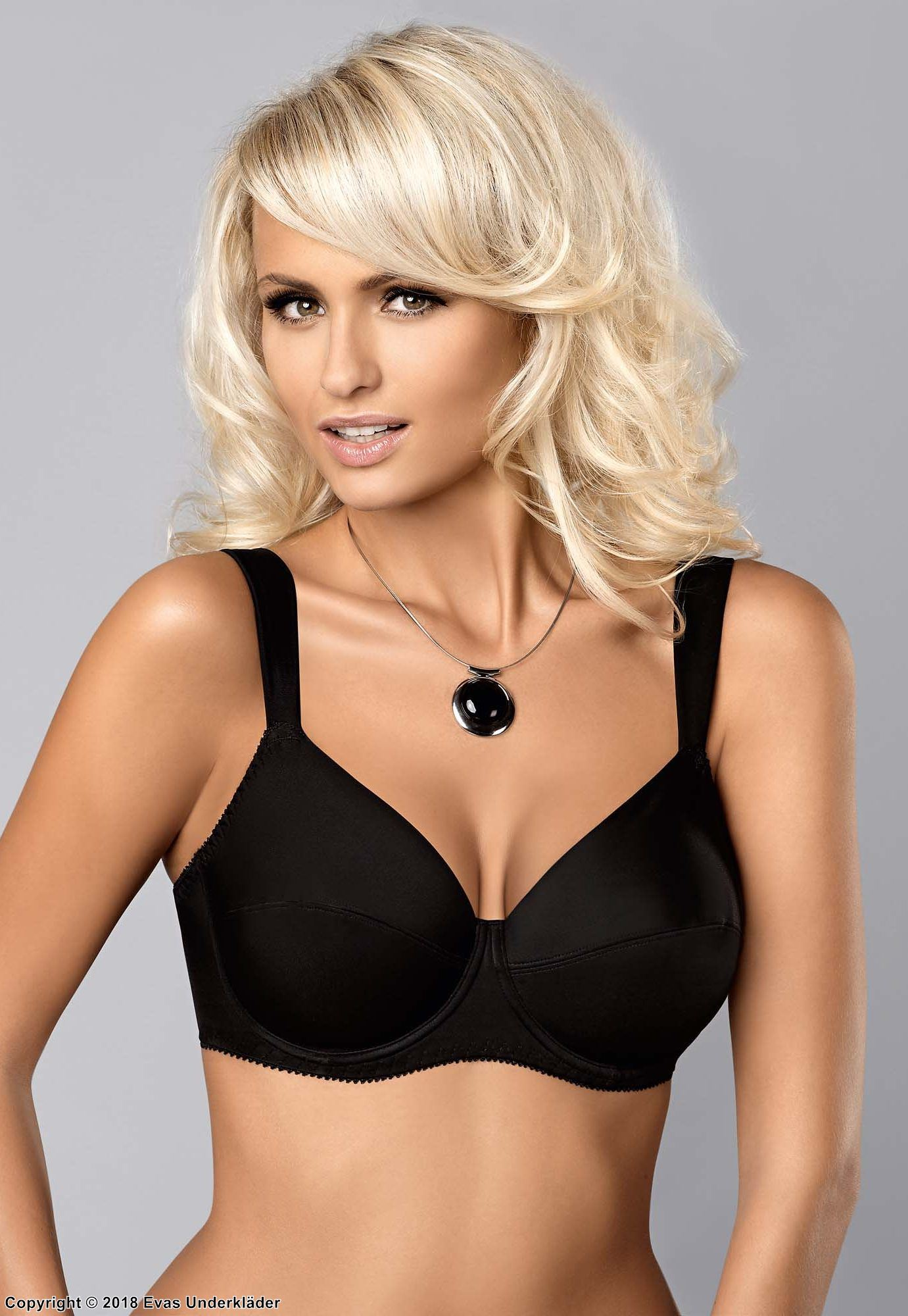 Very comfortable bra for sore shoulders, up to J-cup
